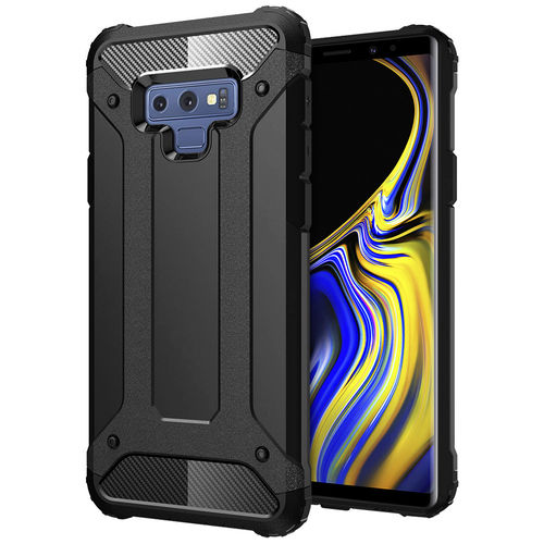 Military Defender Shockproof Case for Samsung Galaxy Note 9 - Black